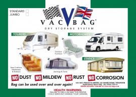 Caravan & Camping Vac Bag® Jumbo - Size 3.65m x 2.4m (12ft x 8ft)