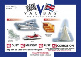 Marine Vac Bag® Jumbo - Size 3.65m x 2.4m (12ft x 8ft)