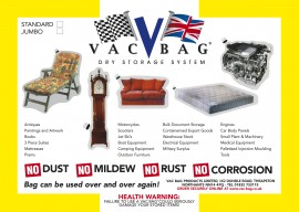 Self Store Vac Bag® Standard - Size 3.0m x 2.4m (10ft x 8ft)