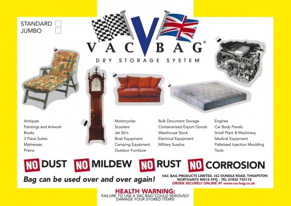 Self Store Domestic & Industrial       Vac Bag