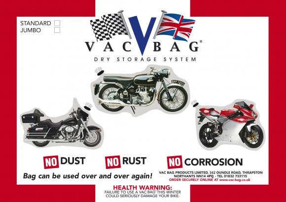 Motorcycle Vac Bags